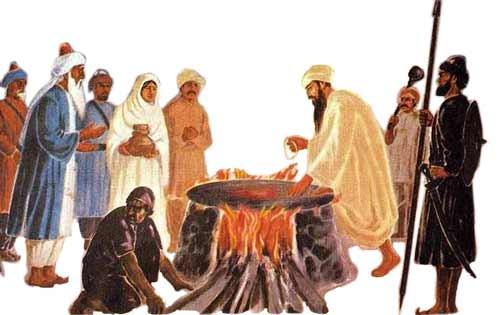 guru arjan dev ji shaheedi story in punjabi
